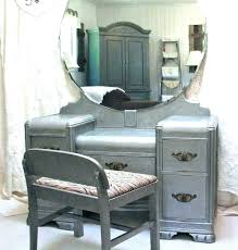 vintage vanity mirror with amazing desk dresser tray