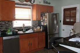 Painted Oak Cabinets Kitchen Paint Colors With Oak Cabinets And Stainless Steel