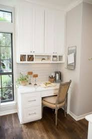 kitchen office nook. Love The Idea Of A Tiny Office Nook Off Kitchen. *Fixer Upper On Kitchen C