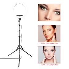 Selfie Ring Light For Makeup Hot Item 18 Inch 55w Led Circle Makeup Selfie Ring Light With Tripod Stand With Mobile Phone Holder