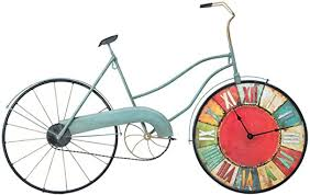 EXTR ANT Retro Creative Belt Clock Bicycle Industrial ... - Amazon.com