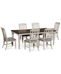 expandable furniture. Barclay Expandable Dining Furniture, 7-Pc. Set (Dining Table \u0026 6 Upholstered Furniture