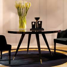 contemporary italian round dining table