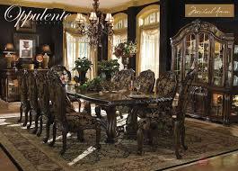 Michael Amini Oppulente Luxury Formal Dining Room Set By AICO