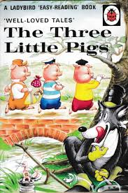 new the three little pigs 100th anniversary a ladybird book well loved tales dust cover 2018