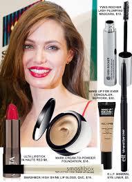 copy angelina jolie s red carpet makeup