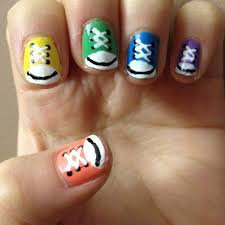 Cute and easy nail art - how you can do it at home. Pictures ...