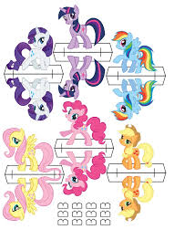 Small Picture My little pony cardboard cutouts free downloadable printable