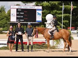 2019 USEF Pony Finals Champion Kat Fuqua & Prestige - YouTube