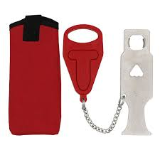 MA  <b>Portable Stainless</b> Steel Lock Travel <b>Latch</b> School Lockdown ...