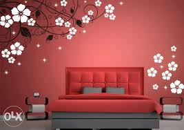 pleasant wall painting designs for bedrooms or other interior designs interior fireplace set wall painting designs for bedrooms 780 550