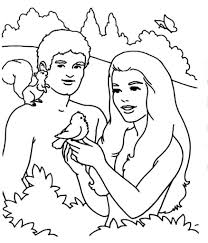 Small Picture Adam And Eve Coloring Pages intended for Your home Cool Coloring