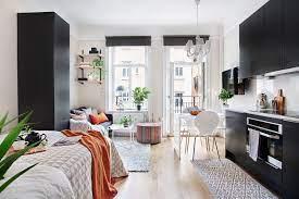 4 small studio interior designs that