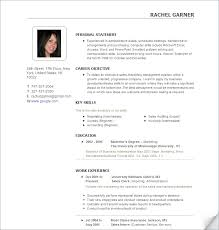 Resume Picture New Resume With Pic Engneeuforicco