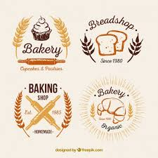 Bakery Vintage Logos Pack Vector Free Download