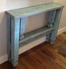 narrow foyer table. We Made A Narrow Entryway Table And Distressed It To Match Our \ Foyer U