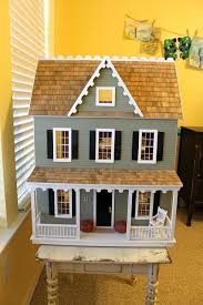 Beautiful DIY dollhouse kit from Hobby Lobby. i want to make chloe from  scratch , but get room ideas from here, particularly the modern wallpaper l
