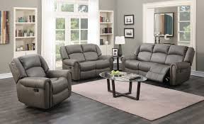 reclining sofa and loveseat for with grey queen bed blue