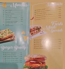 Cafe Coffee Day Menu Menu For Cafe Coffee Day Sector 1