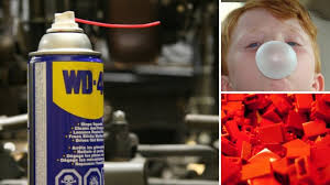 every knows wd 40 is the go to for silencing squeaks displacing moisture preventing rust and loosening stuck parts you probably have a can