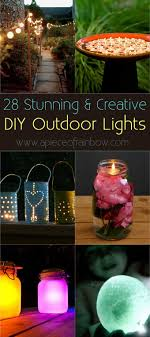 creative outdoor lighting ideas. DIY-outdoor-lights-apieceofrainbowblog (1) Creative Outdoor Lighting Ideas