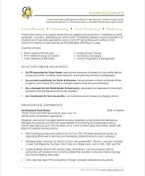 Associate Media Planner Cover Letter Event Planner Resume In Chinese