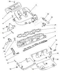 Manifold intake exhaust for 1997 dodge intrepid 00i16394 engine manifold intake exhausthtml dodge intrepid parts diagram image