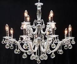 fantastic lighting mozart 600 8 4 polished chrome finish 12 light crystal chandelier