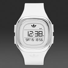 accessories adidas originals denver mens watch white silver adidas originals denver mens watch white