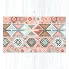 pink aztec rug artisan tribal in target and gold light pink aztec rug