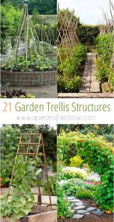 i hope these 21 diy friendly garden trellis ideas and vertical growing structure projects will inspire you and i to explore all the creative possibilities