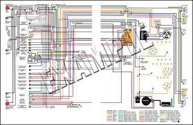 nova parts 14364 1964 nova full color wiring diagram 8 1 2 x wiring diagrams