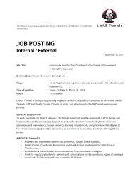 Marketing Manager Job Description Template 9 Free Word