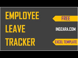 Free 2020 Employee Attendance Calendar How To Track Vacations In Excel Employee Leave Tracker Excel Template Demo