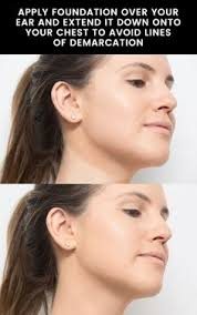 blend foundation seamlessly over your ears and neck explore more on sameera s best foundation makeup tips every needs to know page at dreamstre