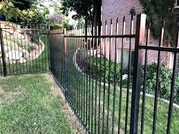 metl how to build a metal fence installing square posts esy frm livesck how to build a metal fence diy