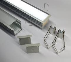 box line recessed led strip mounting profile