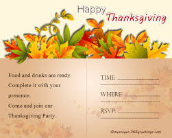 Thanksgiving Invites Thanksgiving Invitations 365greetings Com