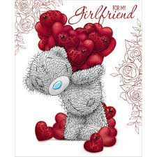 valentine s day cards for girlfriend. Girlfriend Handmade Me To You Bear Valentines Day Card 499 Inside Valentine Cards For