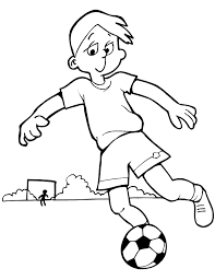 Sinu Laps Blog Football Coloring Pictures Coloring Pages