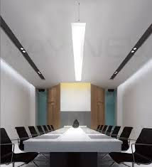 hanging 1 2m 40w linear led office lamp office hanging chandelier effect photos