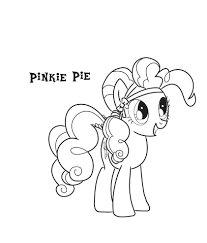 Small Picture Pinkie Pie Color Guide Coloring Coloring Pages