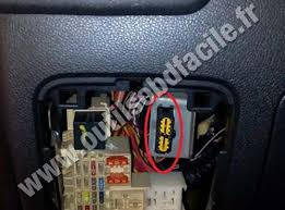 plug fuse box purpose of plug right under the fuse box is it ac pics obd connector location in renault master outils renault master 3 obd2 port volvo c engine compartment fuse relay panel diagram
