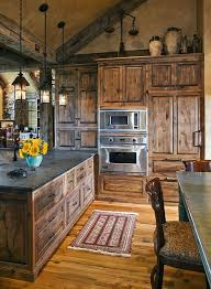 rustic cabinets. Incredible Rustic Kitchen Cabinets Best Ideas About On Pinterest