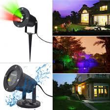 Landscape Projector Lights Waterproof Garden Tree Moving Laser Projector Led Stage