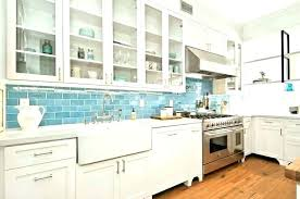 blue kitchen backsplash blue kitchen blue glass subway tile kitchen backsplash