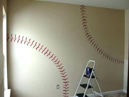 cheap wall murals and decals wall ideas baseball player mural baseball  stadium wall mural kit large