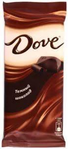 """<b>Шоколад DOVE Темный 90</b> г ― Интернет-магазин """"Довольный ..."""