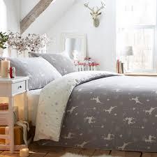 fusion reindeer 100 brushed cotton flannelette duvet