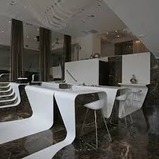 bar interiors design 3. Frame Bar At St George Lycabettus Hotel 3 Bar: Flowing Bands For Exclusive Interiors Design